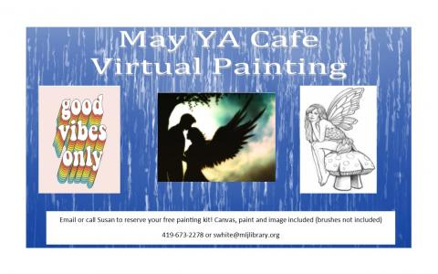 YA Cafe Virtual Painting